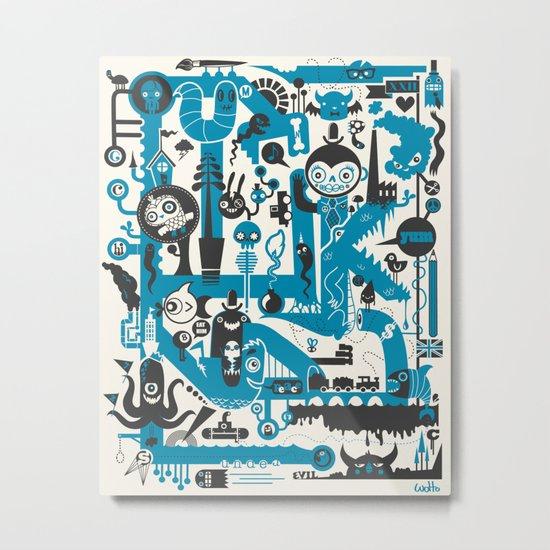 Incognito Metal Print