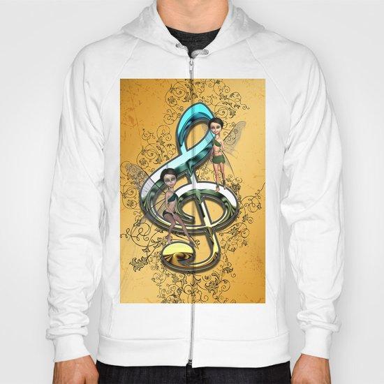 Decorative clef  Hoody