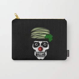 Irish Clown Skeleton Carry-All Pouch