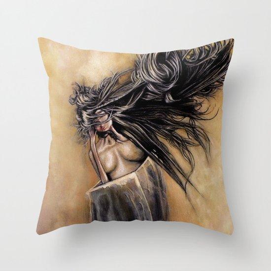 生死 Throw Pillow