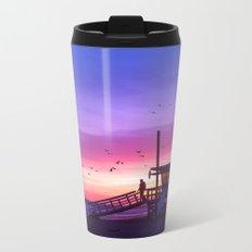 Sunset Tower Metal Travel Mug