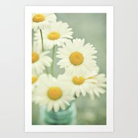 daisies Art Prints featuring Daisies by Lawson Images