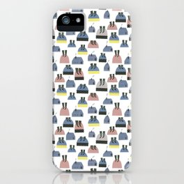 Pattern Project / Socks On Hills iPhone Case