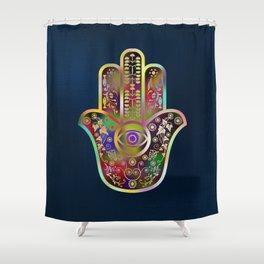Hamsa 4 Shower Curtain