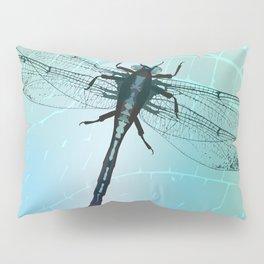 Dragonfly vector Pillow Sham
