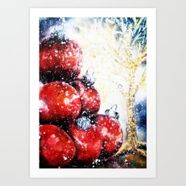 Happy New Year! Art Print