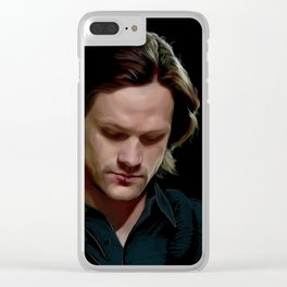 Sam Winchester. Season 9 Clear iPhone Case