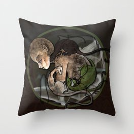 From Ash Throw Pillow