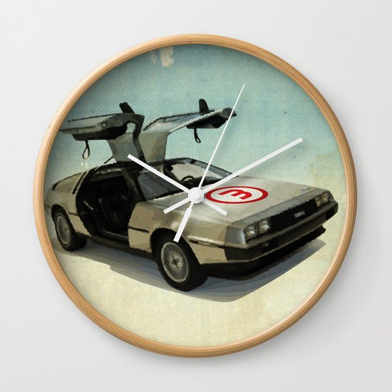 Number 3 - DeLorean Wall Clock