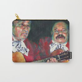 Two Mariachis Carry-All Pouch