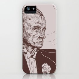 Fred Astaire in Moon Luminance iPhone Case
