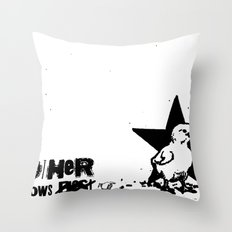 Mother Knows...  Throw Pillow