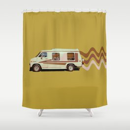 Keepin' it Movin' Shower Curtain