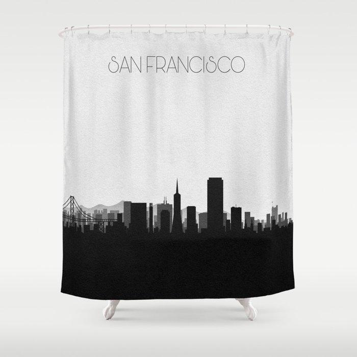 City Skylines San Francisco Shower Curtain