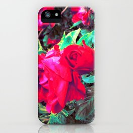 Roses R Red iPhone Case