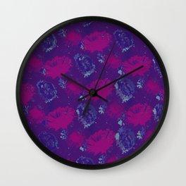 Pink gerberas Wall Clock