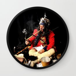 Seneca Tribe Native American 1730 Wall Clock