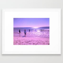 OCEAN FUN Framed Art Print
