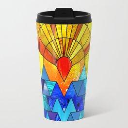 Sun & Sea Collage Travel Mug