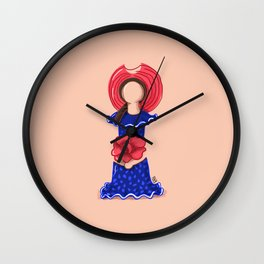 Limé Doll No. 01 Wall Clock