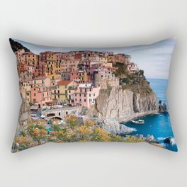 Italy Village Rectangular Pillow