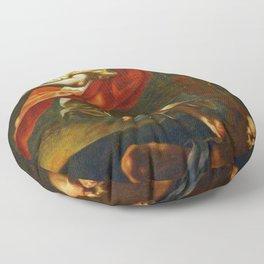 Sebastiano Ricci - Aurora y Thyton Floor Pillow