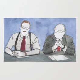 "Office Space - ""The Bobs"" Rug"