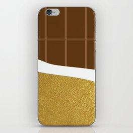 chocolate yum! iPhone Skin