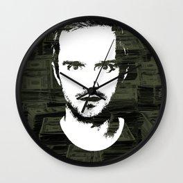 "Jesse Pinkman ""Mad Stacks Yo"" Wall Clock"