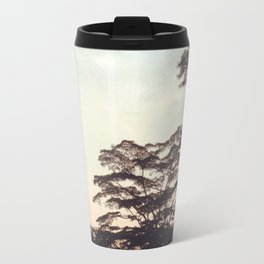 the faint sunset Travel Mug