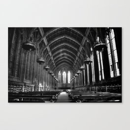 Suzzallo Library Canvas Print
