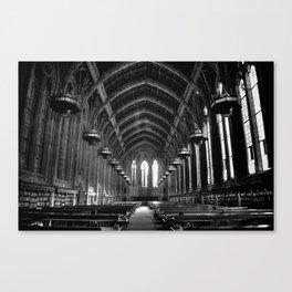 Suzzallo Library Canvas Print