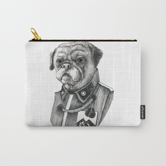 Mr. Pug Carry-All Pouch