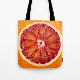 Blood Grapefruit Tote Bag