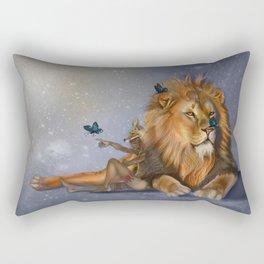 I Dream of Butterflies Rectangular Pillow