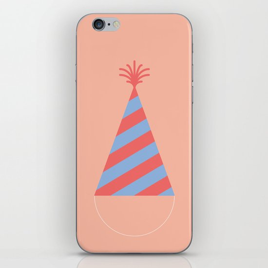 #43 Party Hat iPhone & iPod Skin
