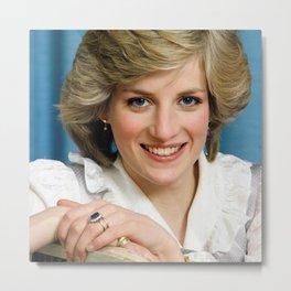 Diana, Princess of Wales - Society6 - Diana Frances Spencer - British Royal Family 665 Metal Print