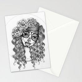 JennyMannoArt Graphite Illustration/Dias de los Muertos Stationery Cards