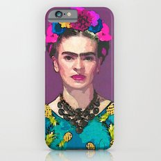 Trendy Frida Kahlo Slim Case iPhone 6