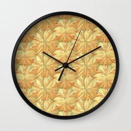 Organic Pattern Wall Clock