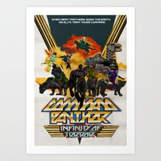 Command Panther Art Print