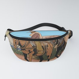 Vintage Poster - Old Spanish National Historic Trail (2018) Fanny Pack