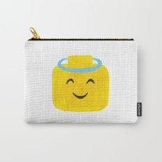 Emoji Minifigure Angel Devil Carry-All Pouch