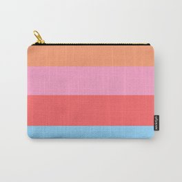 Matted Pastel Rainbow Carry-All Pouch