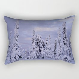 The Winter Wonderland Rectangular Pillow