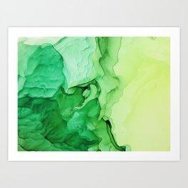 Irish Moss Art Print