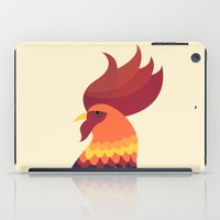 cock iPad Cases featuring Cock by Volkan Dalyan