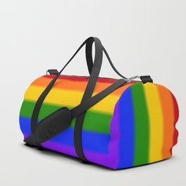 Rainbow Gay Pride Flag Duffle Bag