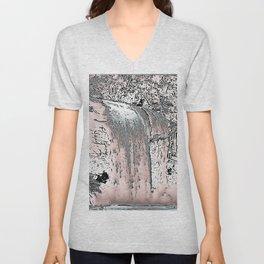"series waterfall ""Cachoeira Grande"" IV Unisex V-Neck"