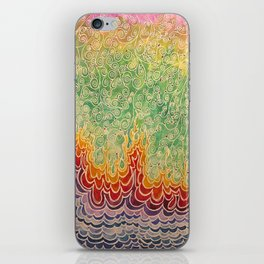 Vines and Flames iPhone Skin